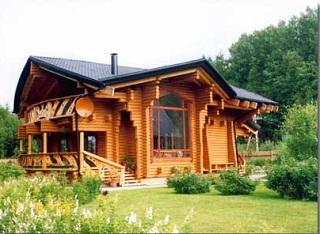 Как поднять бревенчатый дом