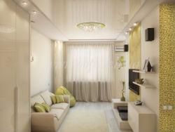 Современная мебель для маленькой гостиной