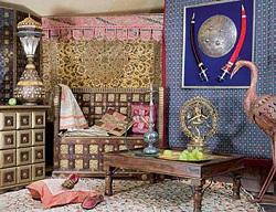 Современный вигвам. Детская комната в индейском стиле