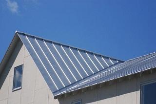 Покрытие крыши железом