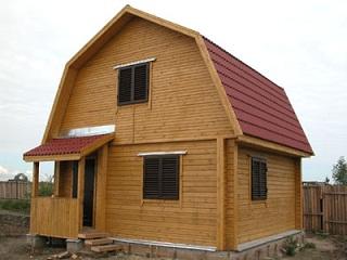 Ломаная крыша: особенности монтажа