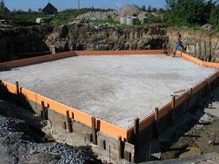 Строительство своими руками плавающего фундамента