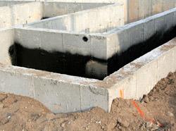 Характерные дефекты и повреждения фундаментов