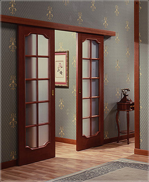 Как сделать раздвижные межкомнатные двери