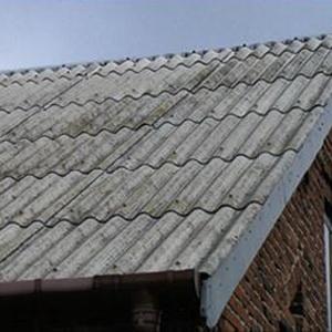 Перекрытие крыши с шифером