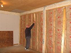Утепляем стены в доме